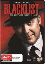The Blacklist : Season 2 (DVD, 2015, 5-Disc Set)