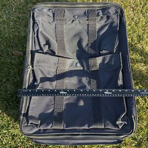 HERMES Herline Trolley Rolling Luggage Nylon Suitcase Carry-on
