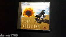 PIANO IMPRESSIONS SOUNDINGS OF THE PLANET TOM BARABAS CD 1994 9 SONGS