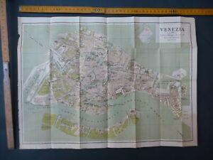 Cartina Pianta VENEZIA Guide Lampugnani