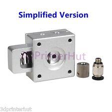 3D Printer Metal Simplified Version Bulldog Universal MK8 Extruder Parts Kit