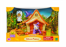 Sylvanian Families Calico Critters Halloween Haunted Playhouse Set