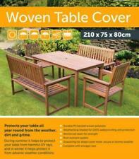 BLACK WATERPROOF TABLE CHAIR PROTECTION COVER OUTDOOR GARDEN WEATHERPROOF SHEET