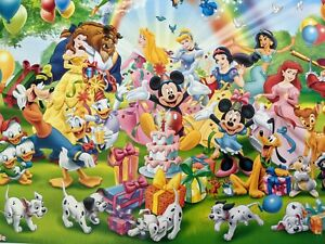 Ravensburger Disney 'Mickey's Birthday' Jigsaw Puzzle 1000 pieces of fun.