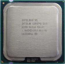 Intel Core 2 Duo 1M Cache 1.86 GHz 1066 MHz FSB CPU LGA 775 socket E6300 SL9SA