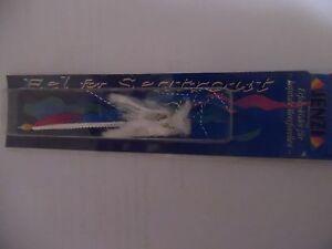 Eel for Seatrout Sandaalimitat für Meerforellen Spirolino von JENZI 10 cm weiss