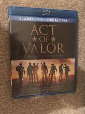Act Of Valor Bluray 1 Disc Set ( No Digital HD)