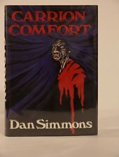 SIGNED Carrion Comfort by Dan Simmons HC/HB Dark Harvest (10% Donation)