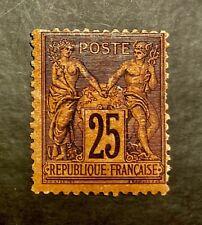 FRANCE 1876 *** TYPE SAGE *** N° 91 *** NEUF * SIGNE *** TTBE