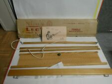 "Vintage Nilus Leclerc No 340 Maya Loom 24"" Weaving Width"