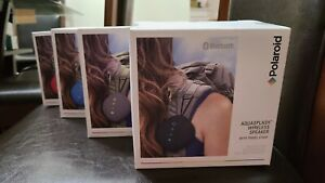 Polaroid Aquasplash Wireless Speaker with Travel Strap New