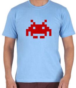 Space Invader Arcade Atari Retro 80s Gaming Arcade T-Shirt