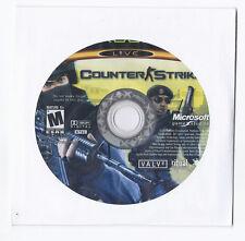 Microsoft xbox Counter Strike Game Rare