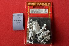 Games Workshop Warhammer Empire Greatsword Greatswords Command Metal 3 Figures