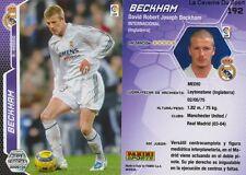 N°192 DAVID BECKHAM # ENGLAND REAL MADRID MANCHESTER CARD CARTE PANINI LIGA 2006