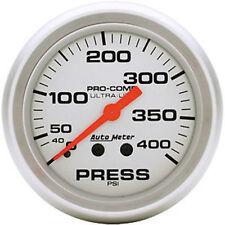 "AUTOMETER PROCOMP ULTRA LITE 2-5/8"" MECHANICAL PRESSURE GAUGE 0-400 PSI AU4424"