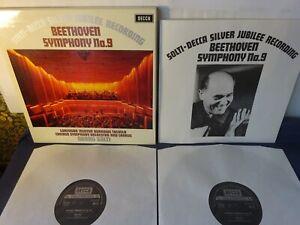 BEETHOVEN - SYMPHONY NO 9 2LP BOX, Chicago S/O, Solti, Minton, DECCA 6BB 121/2