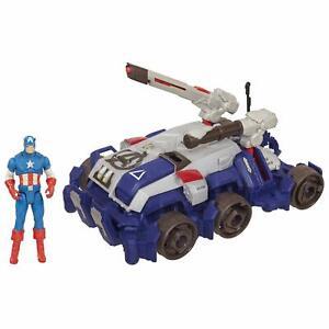 Marvel The Avengers Comic Series Captain America Goliath Assault Tank Vehicle