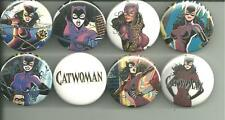 Catwoman Collection 1.5 Inch Pins Buttons Badges DC Comics