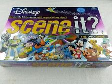 Disney Scene It? 1st Edition Disney Pixar Family DVD Game Complete With Box