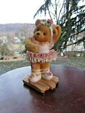 Vintage Enesco 1996 Anamorphic Bear Figurine- Cherished Teddies- Mindy