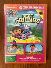Dora The Explorer: Best Friends - 4 Complete adventure DVD Region 4 New & Sealed