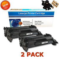 2 Pack CF226A 26A High Yield Toner For HP LaserJet Pro M402dn M402n MFP M426fdw