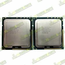 Set of Intel Xeon E5540 2.53GHz SLBF6 8MB 5.86 GT/s LGA1366 Quad Core Processors