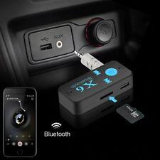 Car Bluetooth Music Receiver Aux 3.5mm Adapter Auto KFZ Wireless Audio Empfänger