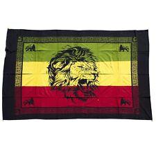 Jah Lion Africa Print Rasta Tapestry Wall Hanging-8167