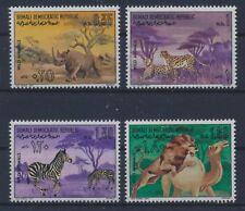 Somalia 176/79 postfrisch / Tiere (6389) .......................................