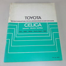 Workshop Manual Toyota Celica/Celica Supra Body Stand 1981