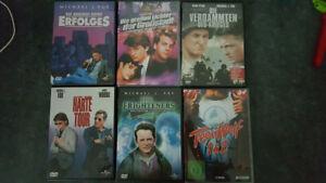 6x Michael J. Fox Frighterner + Harte Tour + Verdammten des Krieges + Teen Wolf