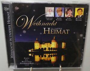 Weihnachten CD In unserer Heimat 21 stimmungsvolle Lieder Stars aus der DDR T145