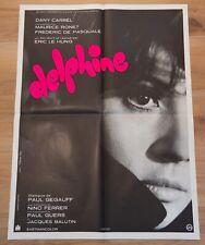 DELPHINE Affiche cinéma 60x80 ERIC LE HUNG, MAURICE RONET, DANY CARREL, FERRER