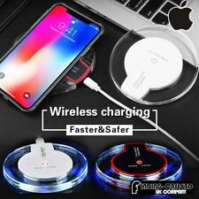 Qi Wireless Charger Charging Dock Pad For Apple iphone 8 8+ X XR XS Max