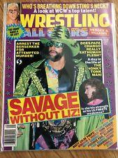 Wrestling All Stars Magazine No. 56 September 1992 Macho Man Randy Savage wwf