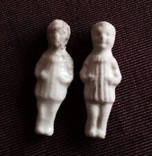 2 Feves Ancien Enfant Garcon Biscuit 1 Email Epiphanie Roi Mages Old Bean Christ