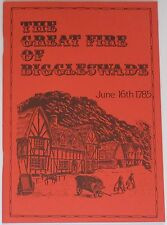 BIGGLESWADE GREAT FIRE Bedfordshire Town History 1785 June 16th Blaze Accident