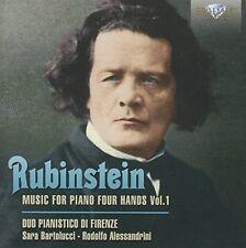 Duo pianistico di FORENZE-Music for piano four hands CD NUOVO Rubinstein, Anton