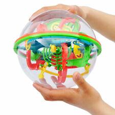 100 Barriers 3D Labyrinth Magic Intellect Ball Balance Maze Perplexus Toy Puzzle