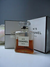 CHANEL No5 PARFUM EXTRAIT 8-9ml of 14ml Vintage 1970s Single C Wax Sealed Bottle