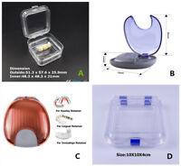 Denture Teeth Box/Case Orthodontic Invisalign Retainer Box/Case Jewelry Dental