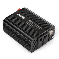 Amzdeal 300W INVERTER DI POTENZA auto con 4.2A Dual USB Port, DC 12V A AC 220V