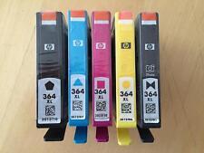 Genuine HP 364 XL Ink Cartridge Multi Pack - CMYK + PHOTO BLACK (VAT INC)