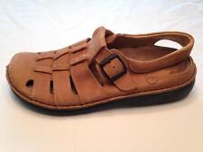 Birkenstock Footprints 40 9 Merced Fisherman Sandals Beige Tan Leather