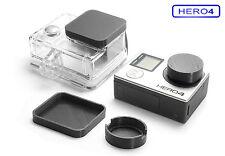 Protezione lenti per GoPro Go Pro Hero 4 ACCESSORI LENS CAP Protector Copertura Cappuccio