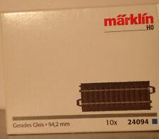 Märklin HO:  24094  C-Gleis gerade 94,2mm   NEU