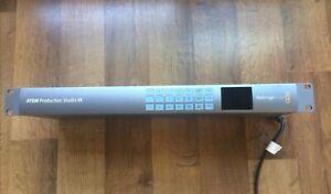 Blackmagic Design Atem Production Studio 4k Live Switcher FOR PARTS/REPAIR ONLY
