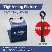 SFX Brand CAT50 Tightening Fixture Stock in US Send One Free ER25/32 Nut Wrench